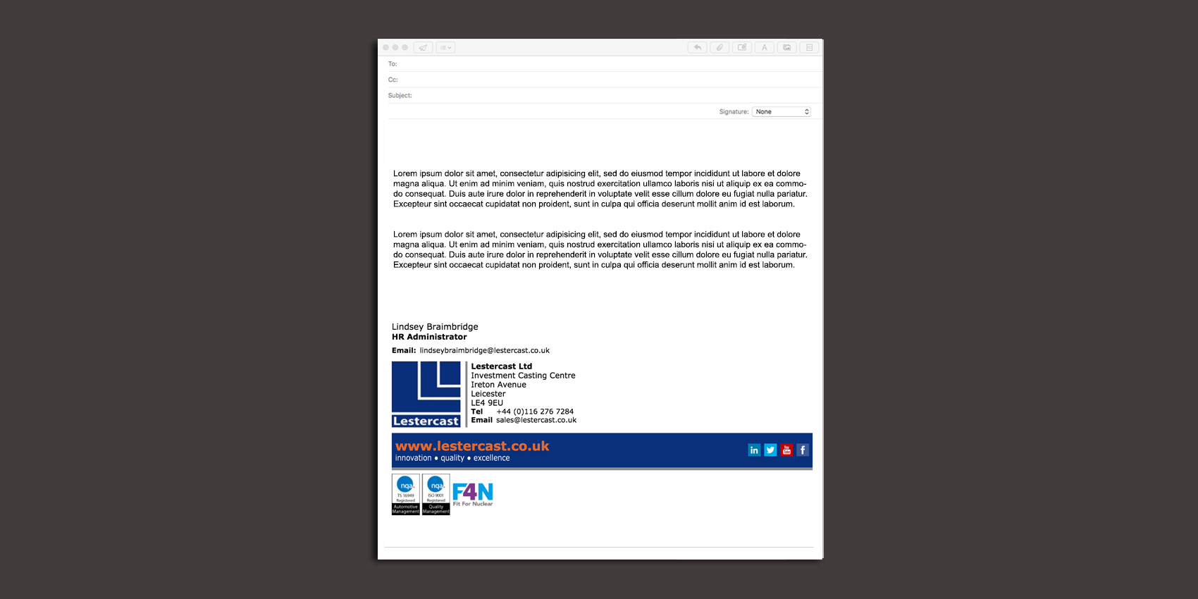 Email Signature examples from past customers – SmartSignatures by eMedia